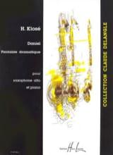 Hyacinthe Eléonore Klosé - Daniel Fantaisie Dramatique) - Partition - di-arezzo.fr