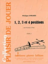 Philippe Oprandi - 1, 2, 3 And 4 Positions - Sheet Music - di-arezzo.com