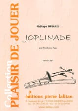 Joplinade Philippe Oprandi Partition Trombone - laflutedepan.com