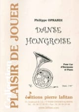 Philippe Oprandi - Hungarian dance - Sheet Music - di-arezzo.co.uk