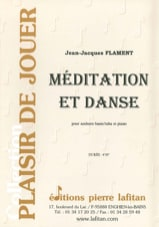 Jean-Jacques Flament - Méditation Et Danse - Partition - di-arezzo.fr
