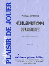 Philippe Oprandi - Russian Song - Sheet Music - di-arezzo.co.uk