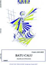 Frédéric Macarez - Batu-Calu - Sheet Music - di-arezzo.co.uk