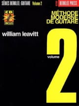 G. William Leavitt - Méthode Moderne de Guitare Volume 2 - Edition Française - Partition - di-arezzo.fr