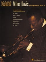 Miles Davis - Originals Volume 1 - Sheet Music - di-arezzo.co.uk