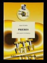 André Telman - Prières - Partition - di-arezzo.fr