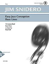 Jim Snidero - Easy Jazz Design - Bass Lines - Sheet Music - di-arezzo.com