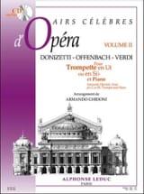 Airs Célèbres D' Opéra Volume 2 - Partition - laflutedepan.com
