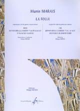 La Folia Marin Marais Partition Tuba - laflutedepan.com