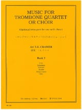 Music For Trombone Volume 3 Partition Trombone - laflutedepan.com