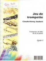 Claude-Henry Joubert - Trumpet Game - Sheet Music - di-arezzo.com