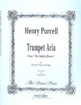 Henry Purcell - Trumpet Aria - Partition - di-arezzo.fr