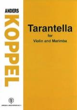 Anders Koppel - Tarantella - Partition - di-arezzo.fr