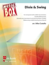 Dixie & swing - music box Partition ENSEMBLES - laflutedepan.com