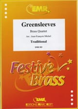 Greensleeves - Partition - Ensemble de cuivres - laflutedepan.com