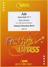 Air From Suite N° 3 BACH Partition Ensemble de cuivres - laflutedepan