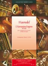 Georg Friedrich Haendel - L'harmonieux forgeron air variée) - Partition - di-arezzo.fr
