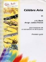 Célèbre Aria BACH Partition Trompette - laflutedepan.com