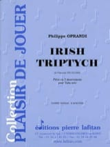 Philippe Oprandi - Irish Triptych - Partition - di-arezzo.fr