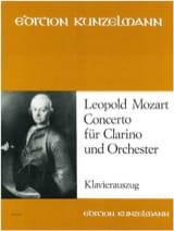 Concerto Für Clarino Und Orchester Leopold Mozart laflutedepan.com