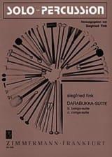 Darabukka-Suite. Tricotis Siegfried Fink Partition laflutedepan.com