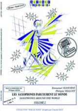Emmanuel Séjourné et Philippe Velluet - シブサックスは世界第2巻を歩き回る - 楽譜 - di-arezzo.jp