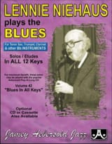 METHODE AEBERSOLD - Plays The Blues Saxo Bb - Sheet Music - di-arezzo.co.uk