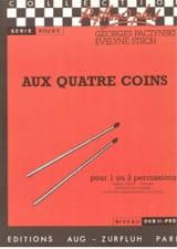 Paczynski Georges / Stroh Evelyne - Aux Quatre Coins - Partition - di-arezzo.fr