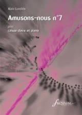 Amusons Nous N° 7 Alain Londeix Partition laflutedepan.com