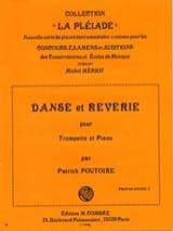 Patrick Poutoire - Danse Et Reverie - Partition - di-arezzo.fr