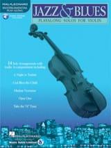Jazz & Blues Partition Violon - laflutedepan.com