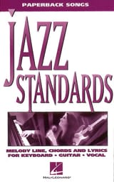 Paperback songs - Jazz Standards Partition Jazz - laflutedepan