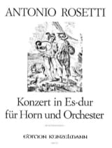 Francesco Antonio Rosetti - Konzert In Es-Dur - Sheet Music - di-arezzo.com