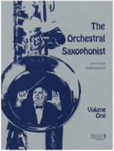 The Orchestral Saxophonist - Volume 1 Partition laflutedepan.com