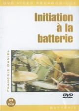 DVD - Initiation A la Batterie - François Daniel - laflutedepan.com