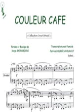 Couleur Café Serge Gainsbourg Partition laflutedepan