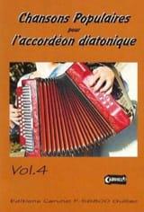 Chansons Populaires Volume 4 Partition Accordéon - laflutedepan.com