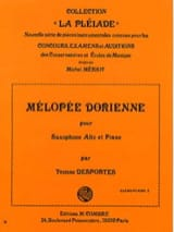 Yvonne Desportes - Dorian melopea - Sheet Music - di-arezzo.co.uk