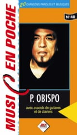 Pascal Obispo - Music in the bag N ° 40 - Sheet Music - di-arezzo.co.uk