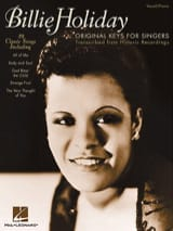 Billie Holiday - Original Keys For Singers - Partition - di-arezzo.fr