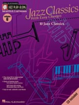 Jazz play-along volume 6 - Jazz Classics With Easy Changes laflutedepan.com