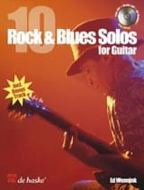 Ed Wennink - 10 Rock & blues solos for guitar - Partition - di-arezzo.fr