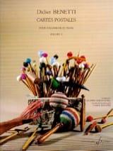 Cartes Postales Volume 1 Didier Benetti Partition laflutedepan.com