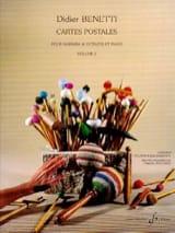 Didier Benetti - Cartes Postales Volume 2 - Partition - di-arezzo.fr