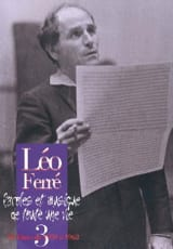 Léo Ferré - Words And Music Of A Whole Life Volume 3 1959-62 - Sheet Music - di-arezzo.com