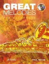 Great Melodies Paul Hollis Partition Saxophone - laflutedepan.com