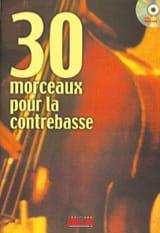 30 Morceaux Pour la Contrebasse - Michel Beaujean - laflutedepan.com