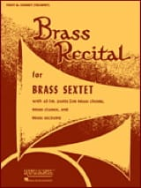Brass Recital - Conducteur - Partition - laflutedepan.com