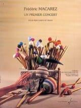 Un Premier Concert Frédéric Macarez Partition laflutedepan.com