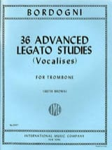 Marco Bordogni - 36 Advanced Legato Studies Vocalises - Sheet Music - di-arezzo.co.uk